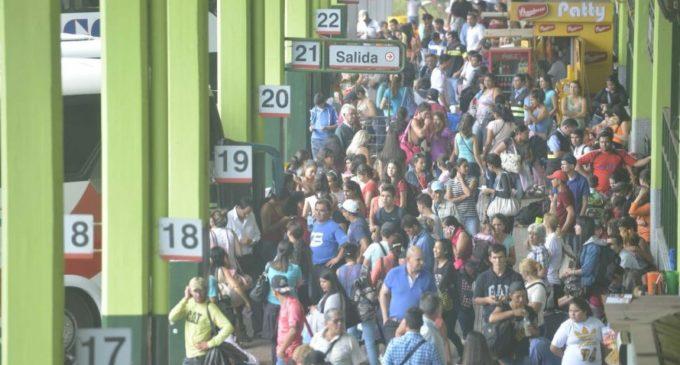 Más de dos millones de personas pasarán por la Terminal de Asunción al finalizar diciembre