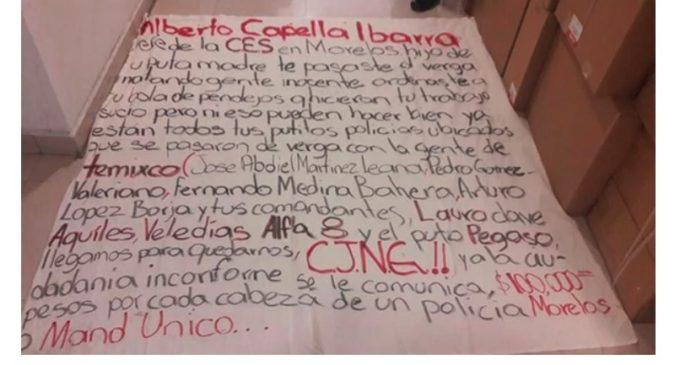 Un cartel mexicano ofrece a la población del estado de Jalisco 5.200 dólares por cada policía muerto
