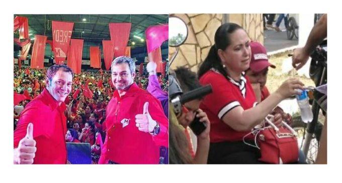 Perla de Vázquez fue derrotada en San Pedro por el candidato de Colorado Añeteté