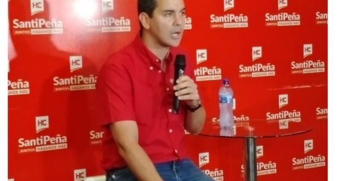 """""""Mi posición sobre González Daher no ha cambiado"""": Santiago Peña defiende al cuestionado senador"""