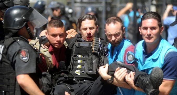 Los números tras las protestas en Argentina por la reforma provisional