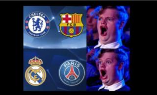 Memes tras el sorteo de Champions
