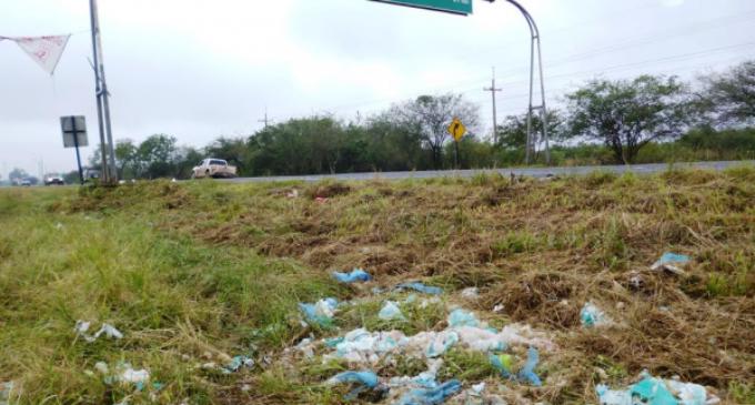 Arrojar basuras en rutas tiene una multa de G. 785.000