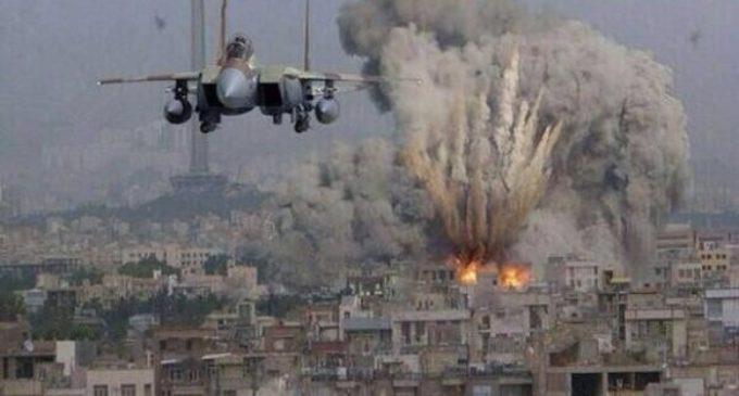 Fuerzas de Defensa israelí responden a bombardeo de terroristas
