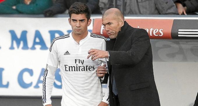 Hijos de futbolistas que ya juegan en la cantera del Real Madrid