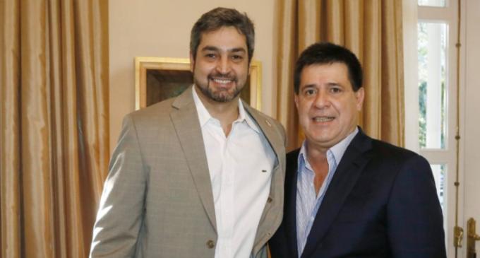 Tras reunión con Cartes, Marito dice que seguirá luchando contra la impunidad