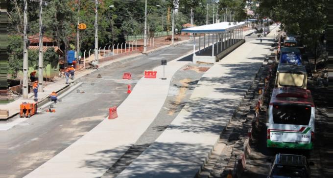 Obras Metrobús: Sentido San Lorenzo-Asunción será por el carril izquierdo