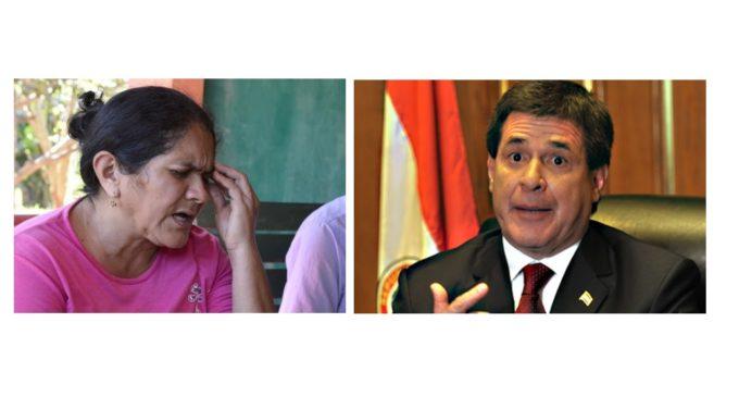"""""""El presidente y todo el gobierno está metido con el EPP"""", asegura madre de Edelio"""