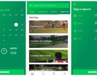 """""""Pelotajara"""": la app para reservar canchas y jugar"""