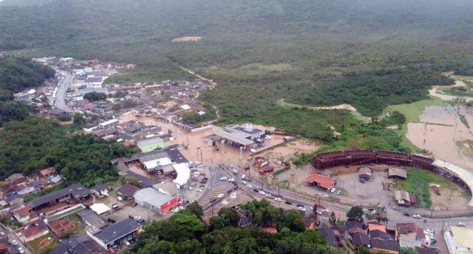 Alerta meteorológica en Florianópolis: Dos personas muertas y un desaparecido