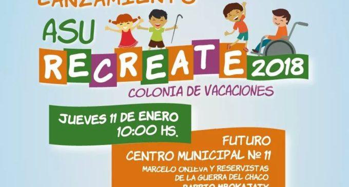 Colonia de vacaciones de la comuna capitalina será del 15 al 31 de enero