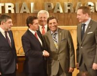 Empresarios paraguayos pidieron a Peña Nieto cerrar acuerdo comercial