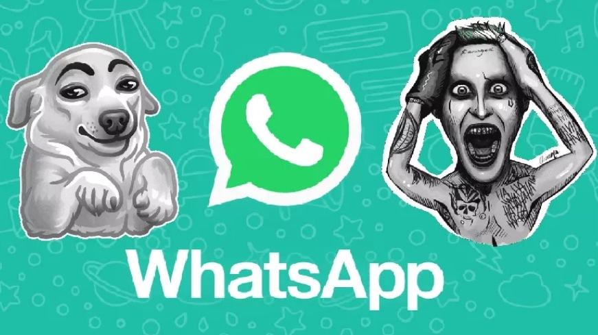 ¿Te gustan los primeros stickers de WhatsApp?