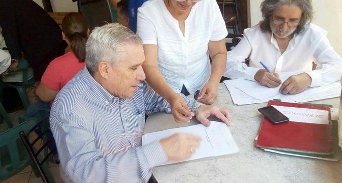 Maratónica campaña para llegar a la Presidencia inicia el equipo de Horacio Galeano Perrone