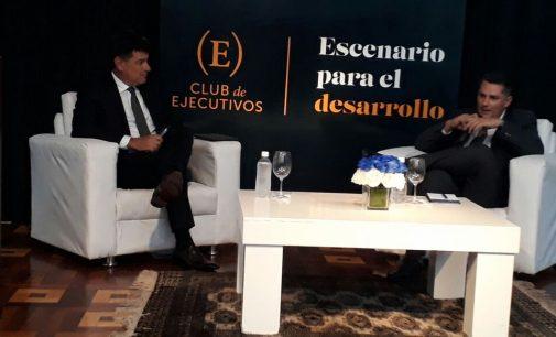 Efraín Alegre participó del primer conversatorio con Presidenciables del Club de Ejecutivos