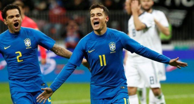 Sin Neymar, Brasil golea a la anfitriona del mundial