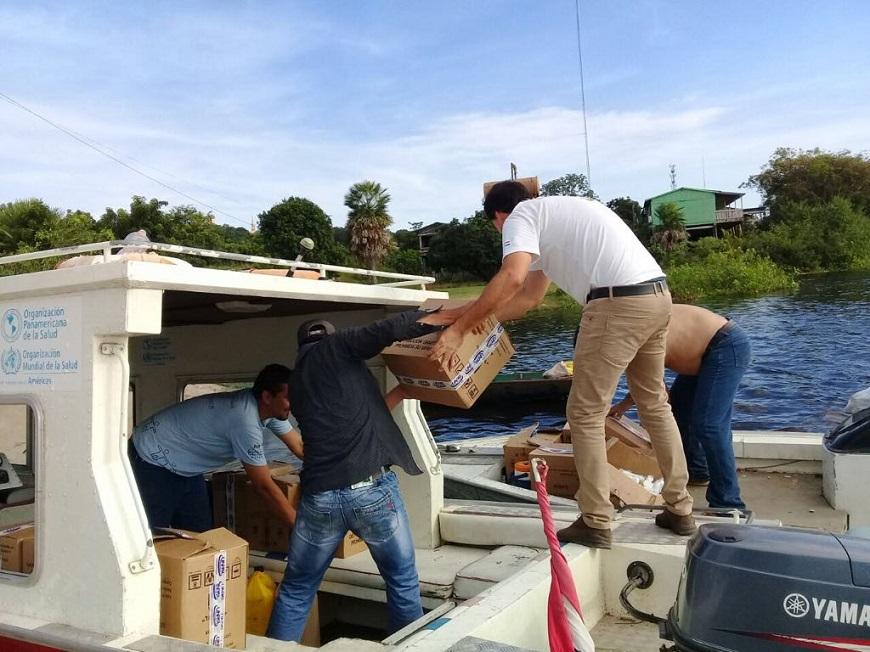 Asistencia sanitaria llega al Puerto Guaraní