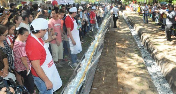 En Pelopincho elaborarán la chipa más grande del mundo