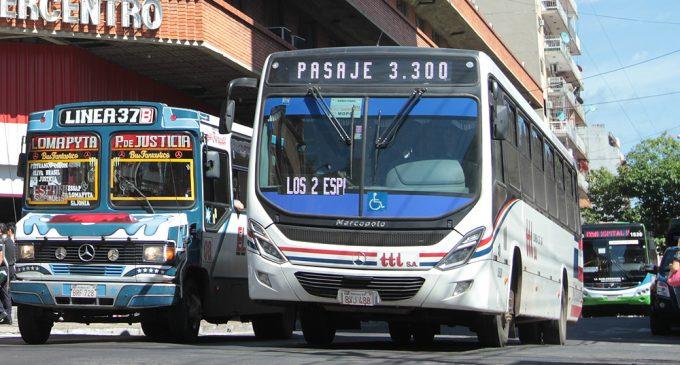 Diferencia de horarios entre buses de área metropolitana no puede superar 60 minutos en Semana Santa, aclaran