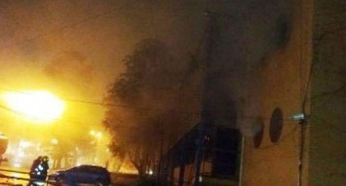 Se incendió la municipalidad de Encarnación