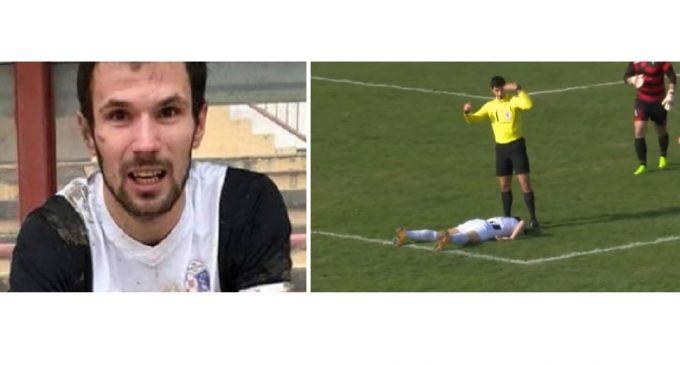 Otra tragedia en el fútbol: Murió un jugador tras recibir un pelotazo en el pecho
