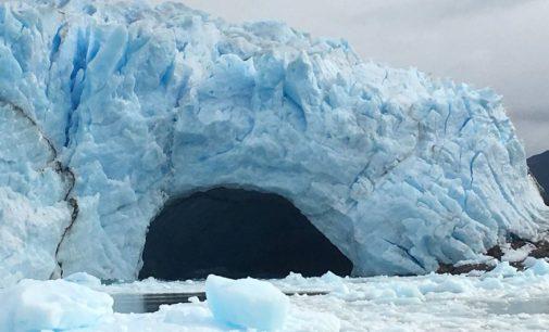 Se desprendió el glaciar Perito Moreno de Argentina