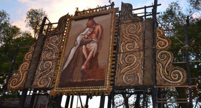 Con un retablo de Chiquitunga, esperan a miles de visitantes en Tañarandy