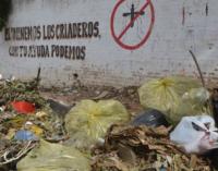 Dengue: La gente que mezquina su basura