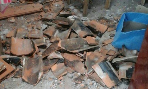 Cae parte del techo en escuela de Ñemby
