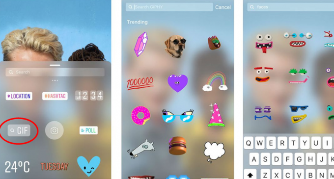 ¿Te quedaste sin GIF en Instagram y Snapchat?