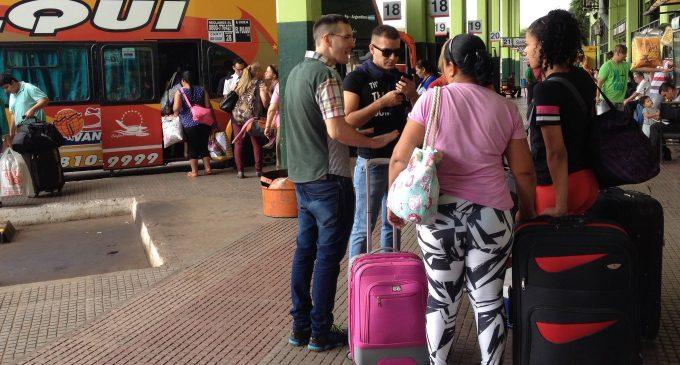 Se redujo cantidad de viajeros en Semana Santa