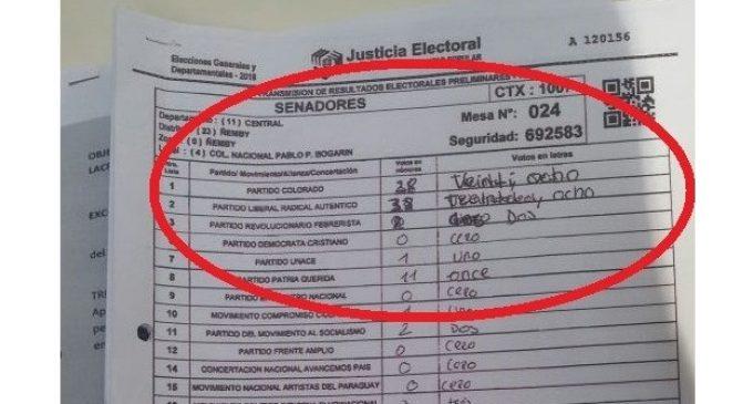 Así podés saber si el acta de tu voto fue adulterado