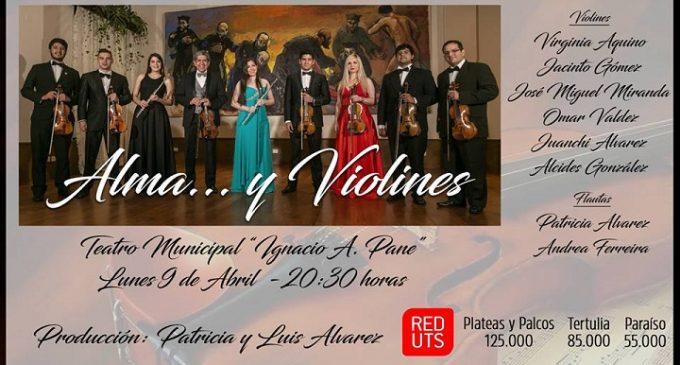 """Esta noche es el concierto """"Alma y violines"""""""