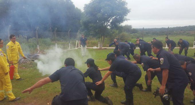 Encarnación: Agentes penitenciarios fueron instruidos en la aplicación de protocolos en casos de incendio y motín