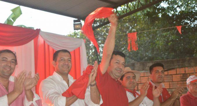 El colorado Carlos Giménez se impuso ante la Alianza GANAR en San Pedro