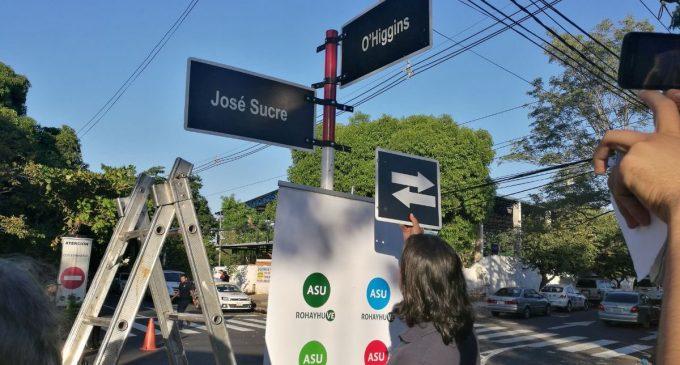 Varias calles de Villa Morra cambian de sentido