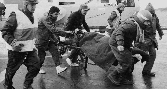 """""""Llegaban los heridos y se oían gritos de dolor, clamaban por sus mamás"""", recuerda enfermera de las Malvinas"""