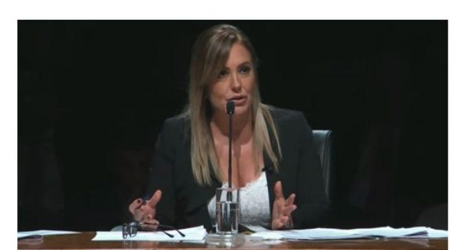 Debate presidencial: Menchi lamenta que no se haya podido profundizar más en temas sociales