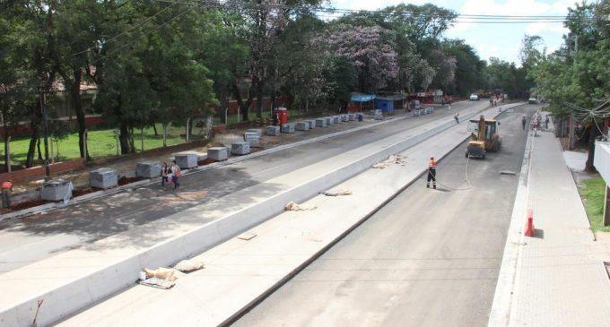 Obras del metrobús culminarían recién en marzo del 2019