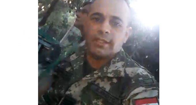 """""""El video no representa postura de las Fuerzas Armadas"""", aclaran"""