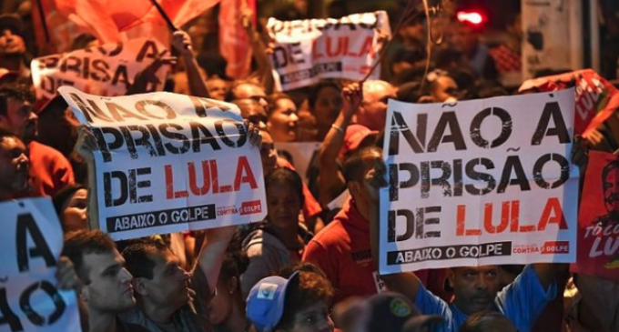 Lula no se entrega y desafía a la Policía