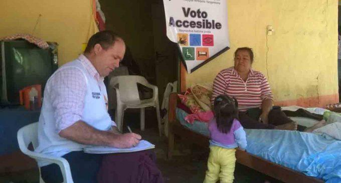 """TSJE confirma utilización del """"Voto En Casa"""""""