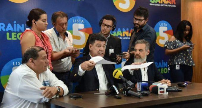 Alianza niega haber convocado manifestación