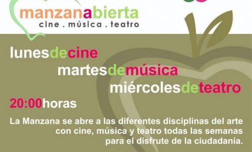 """Nuevo ciclo cultural """"Manzana abierta"""""""