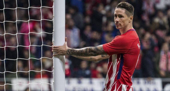 Última temporada de Fernando Torres en el Atlético