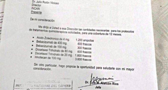 Salud Pública defiende medicamentos oncológicos adquiridos