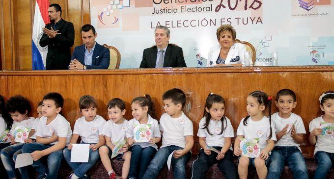 TSJE fomenta desarrollo de formación cívica de niños y jóvenes