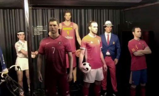 La Broma de Bale en el Museo de Cera