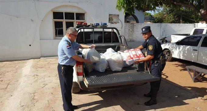 """Policía """"humanizada"""" realiza labores sociales en Paraguarí"""