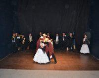 """Banda y Ballet folclórico municipal en """"Asaje rire"""""""